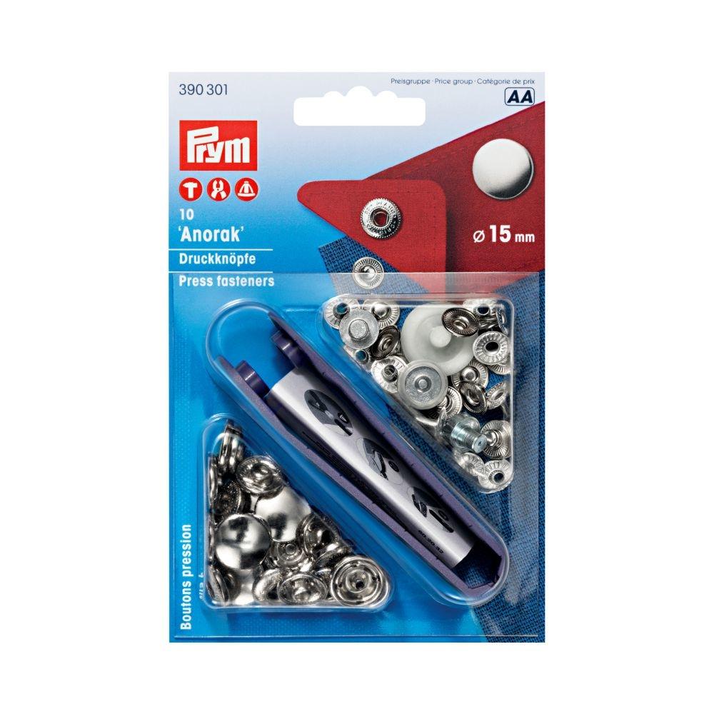 Prym® Druckknöpfe 15 mm, 10 Stück