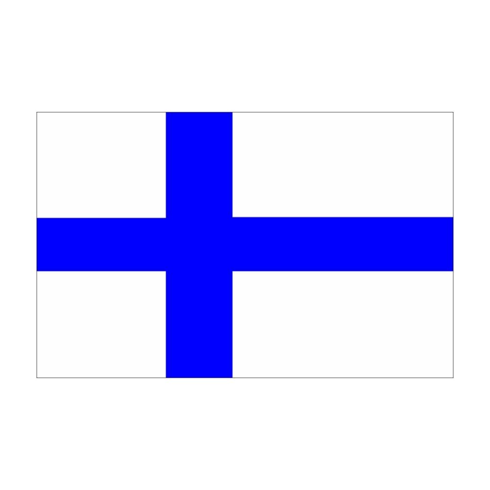 Flagge Finnland 30 x 45 cm