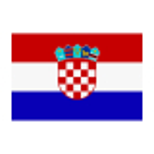 Flagge Kroatien 30 x 45 cm