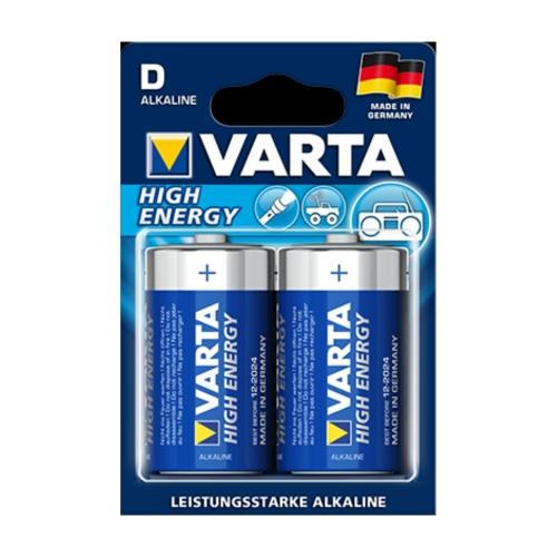 Varta High Energy Batterie LR 20 / D