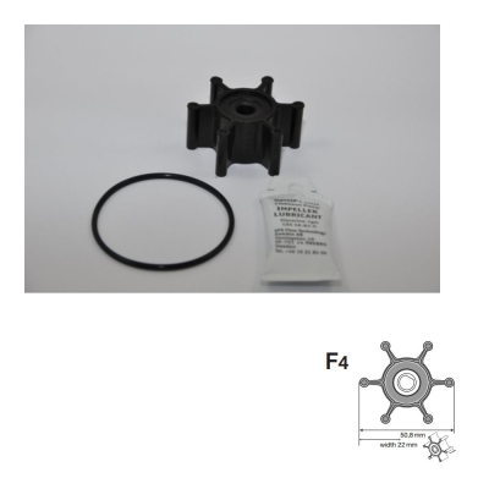 Impeller 09-824P-9 - Pumpe F4