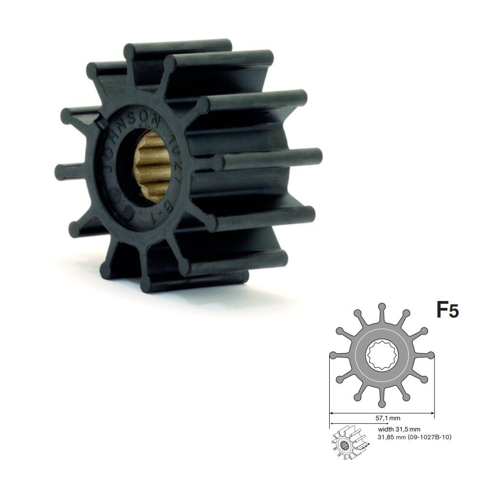 Impeller 09-1027B-1 - Pumpe F5