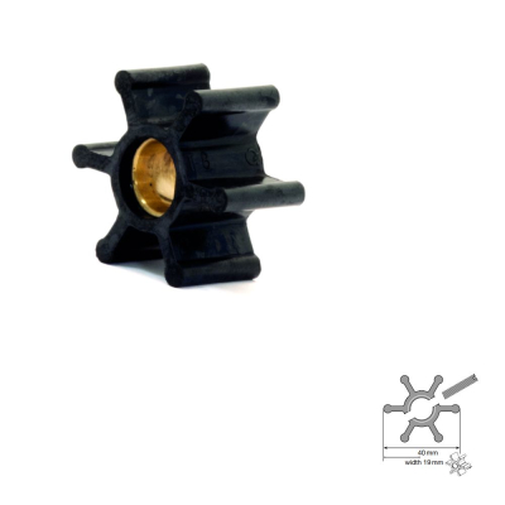 Impeller 09-808B-1 - Pumpe F35