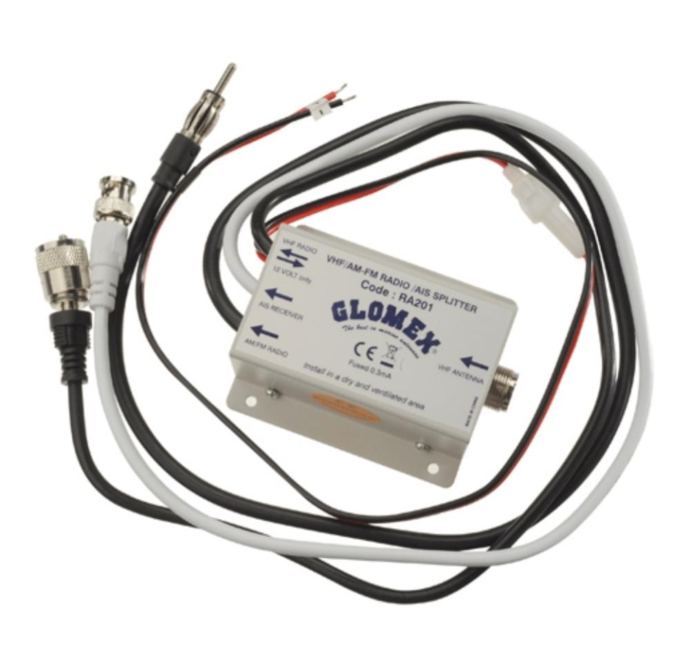 Glomex Antennenweiche - RA201