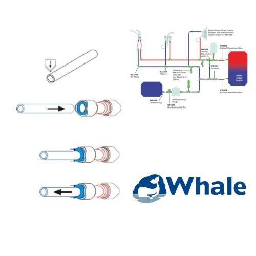 Whale Quick Connect 90° Bogen (2er Pack)