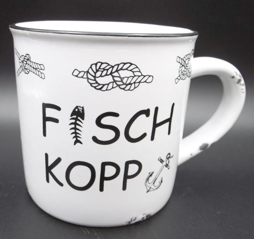 "Keramikbecher ""Fischkopp"""