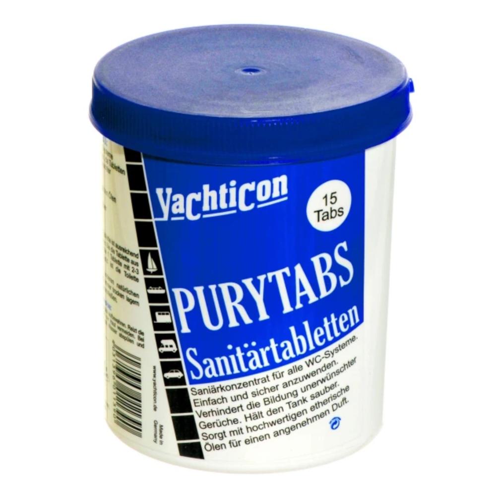 PuryTabs Sanitärtabletten 15 Tabletten á 24 g