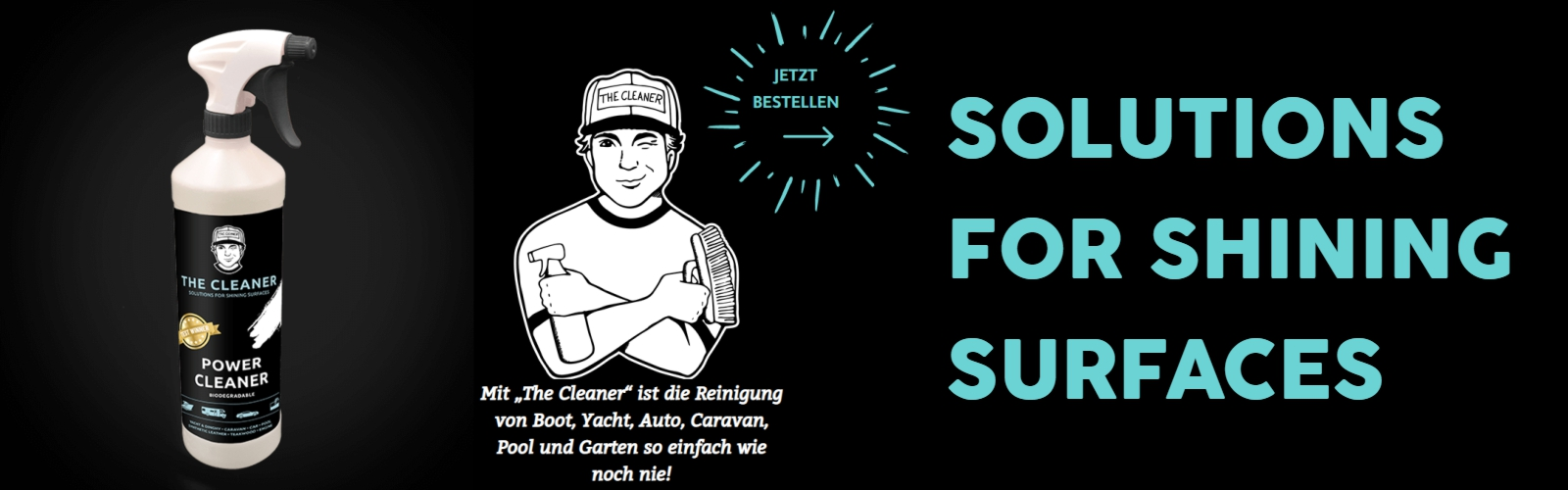 The Cleaner - Schnelle Anwendung, perfektes E